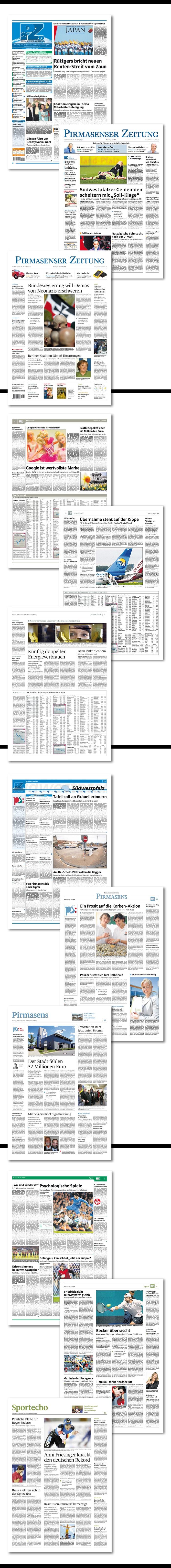 Pirmasenser Zeitung Relaunch