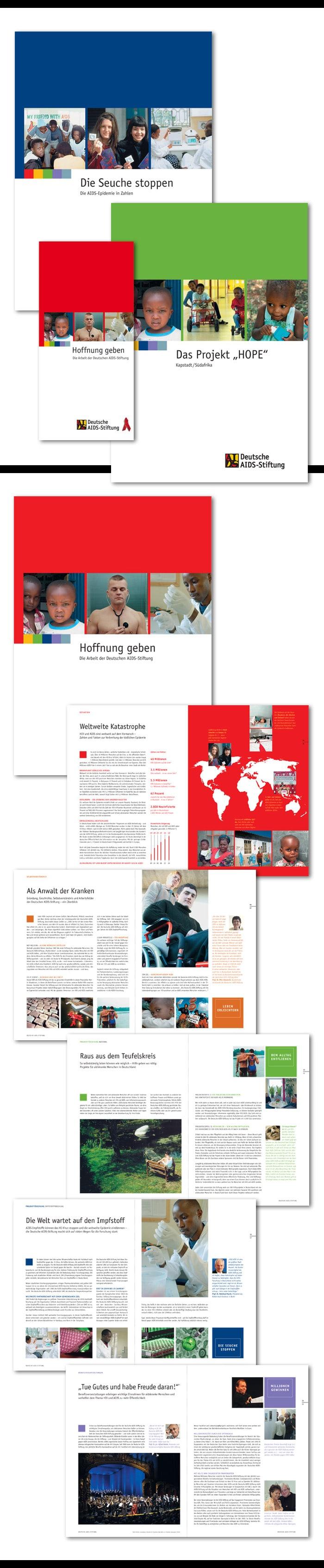 Deutsche Aids-Stiftung Konzeption CI